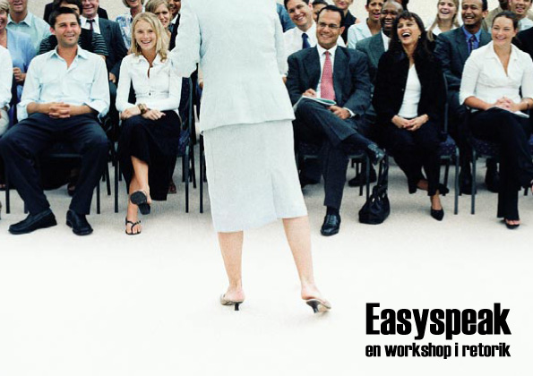 Easyspeak - en workshop i konsten att tala
