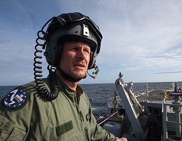 Robert karjel ar chef vid flygvapnet