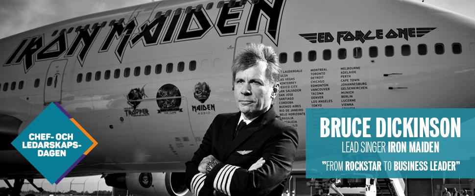Chef- och ledarskapsdagen - Bruce Dickinson, lead singer Iron Maiden